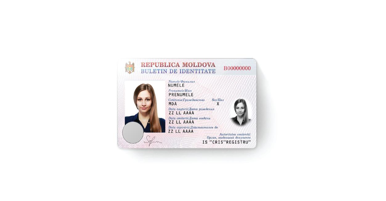 X Infotech Electronic Identity Eid Card For Moldova