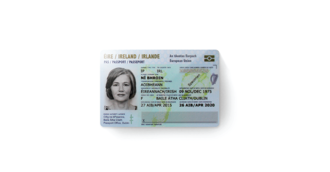 X Infotech Passport Card Project In Ireland